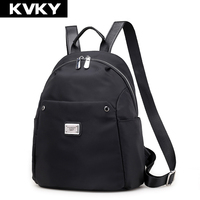 KVKY Fashion Women Backpack High Quality Waterproof Nylon Ladies Shoulder School Bag For Teenagers Girls Travel