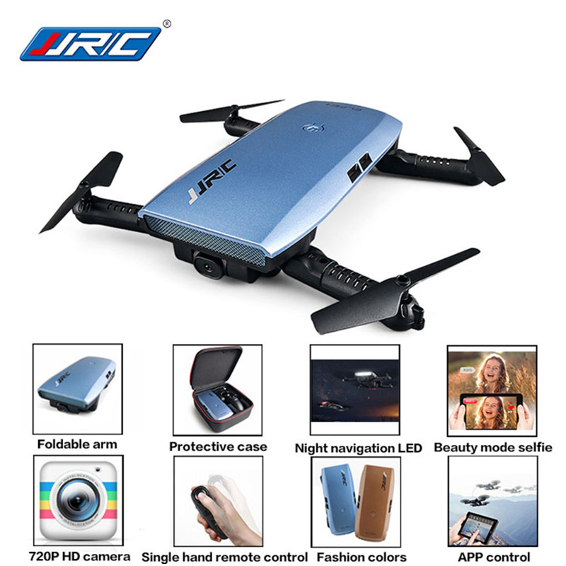 JJR/C JJRC H47 ELFIE Plus With HD Camera Upgraded Foldable Selfie Arm RC Drone Quadcopter Helicopter VS H37 Mini Eachine...
