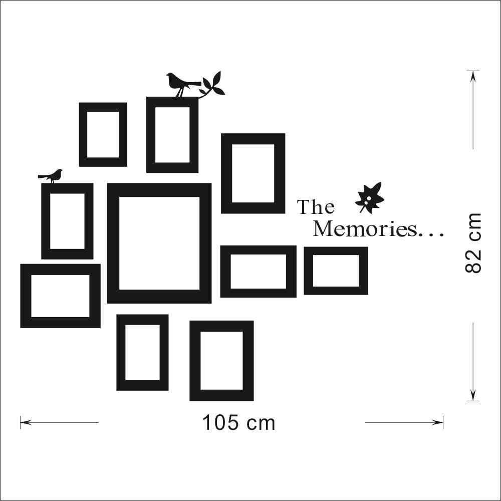 Фоторамка Настенная роспись домашний декор фото DIY настенные наклейки 10x картина модные подарки виниловое искусство