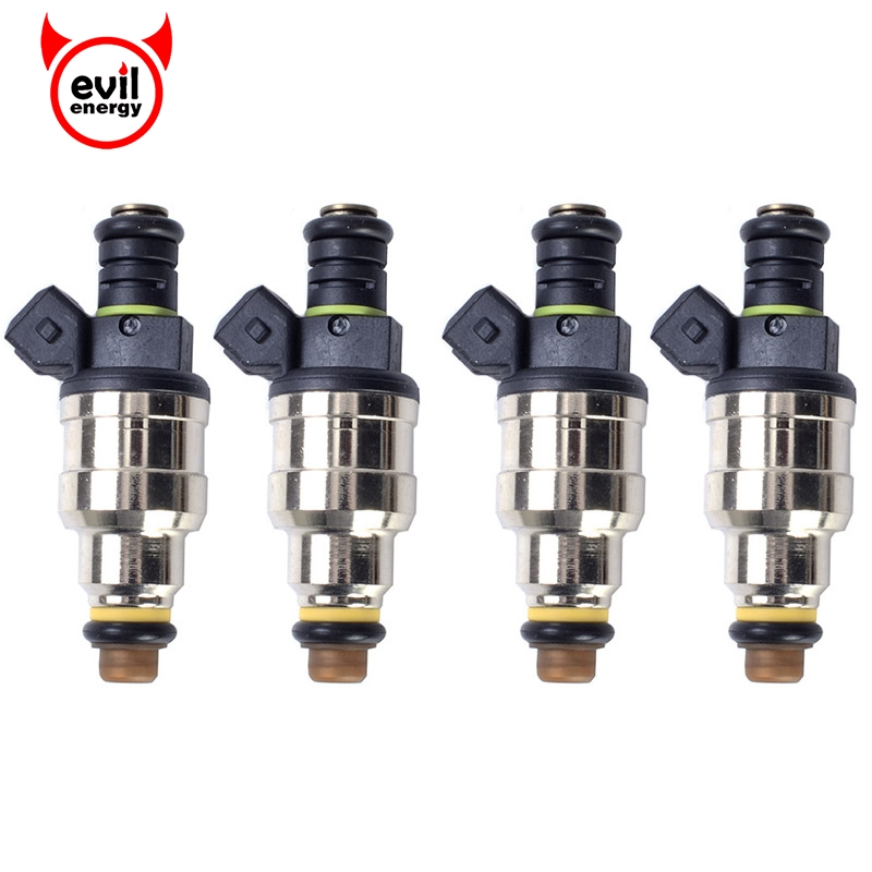 evil energy 4PCS 1600cc Fuel Injector Auto High Flow For Motorsports Racing Car Auto Spare Part Fuel Injector