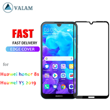 VALAM 9D Tempered Glass for Huawei Honor 8s Y5 2019 Screen Protector Full Body Cover honor