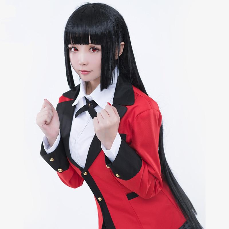 2017 new Anime Kakegurui Jabami Yumeko Cosplay Costume