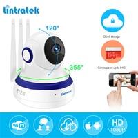 Lintratek Hd 1080P IP Camera WIFI 2 0MP CCTV Video Surveillance P2P Home Security Three Antennas