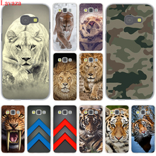Фотография Snow animal lion tiger Eyes animals tigers Hard Case Cover for Galaxy A3 A5 J5 (2015/2016/2017) J7 & Note 4 3 & J3 J5 Prime