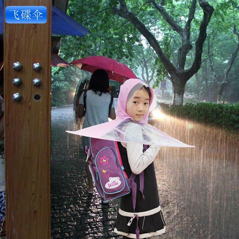 ff7a73bb363bd Flying saucer umbrella hat umbrella handle umbrella child raincoat electric  bicycle raincoat umbrella
