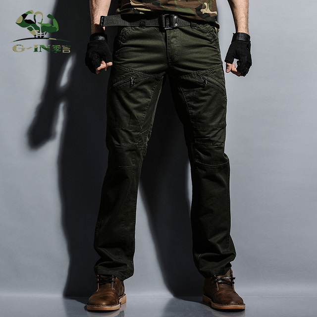 Tactical army margo pants trousilitarycargo pants mens cers casual clothing male overalls mens pants 29-38