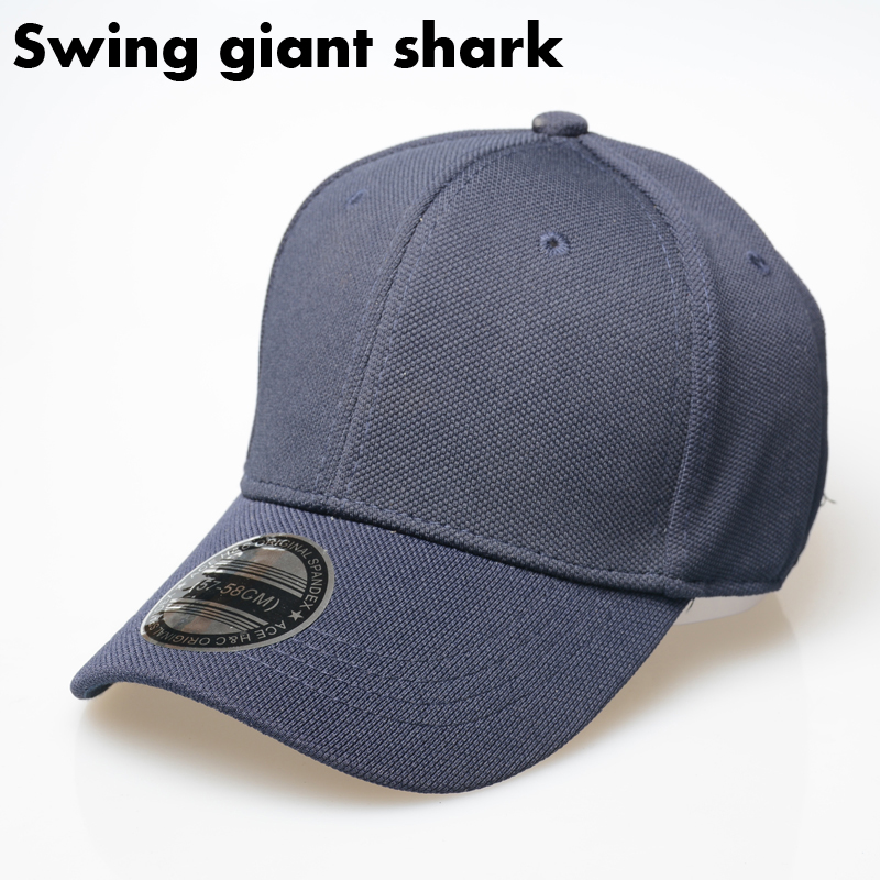 shark fin baseball hat swing giant font light cap paul