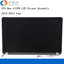 "95% New A1398 LCD Assembly for MacBook Pro Retina 15"" Screen Assembly Display 2012-2014 Year"