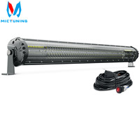 MICTUNING M2 31'' LED Light Bar Quad Row Combo Bar Off Road Car Driving Work Light Bar With Wiring for J eep ATV Truck Boat