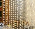 30 M Frete grátis cena do casamento decoração KTV decoração do hotel K9 de cristal do grânulo 14mm jantes contas octogonais