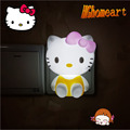Cartoon Night Light HELLO Kitty Belt Switch Night Light Children Room Energy Saving Lamp Bedside Lamp