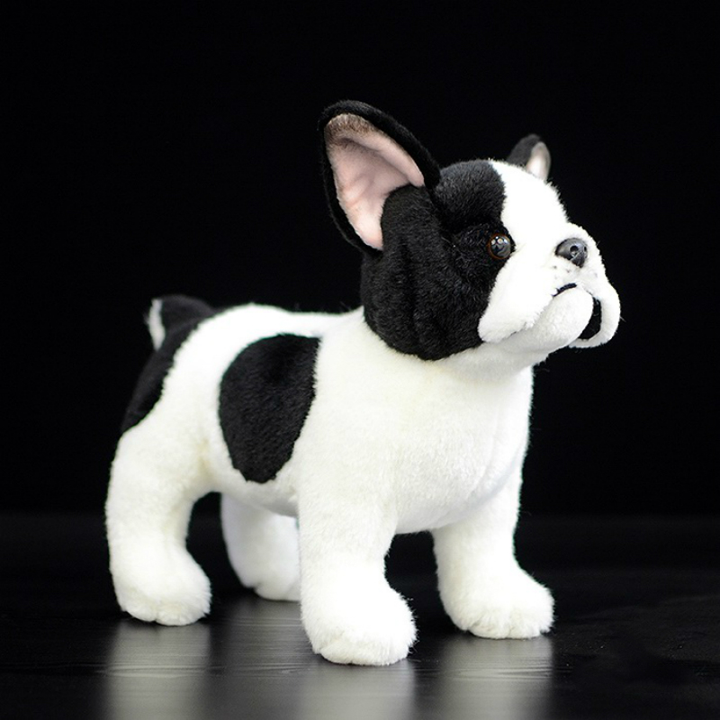 1Pcs 20cm Cute dog doll simulation french bulldog doll standing dog plush toy Bulldog baby doll baby gift dog pillow