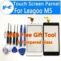 Leagoo M5 tela Sensível Ao Toque de Alta Qualidade 100% Original Substituição Do Painel de Vidro Digitador da Tela de Toque Para Leagoo M5