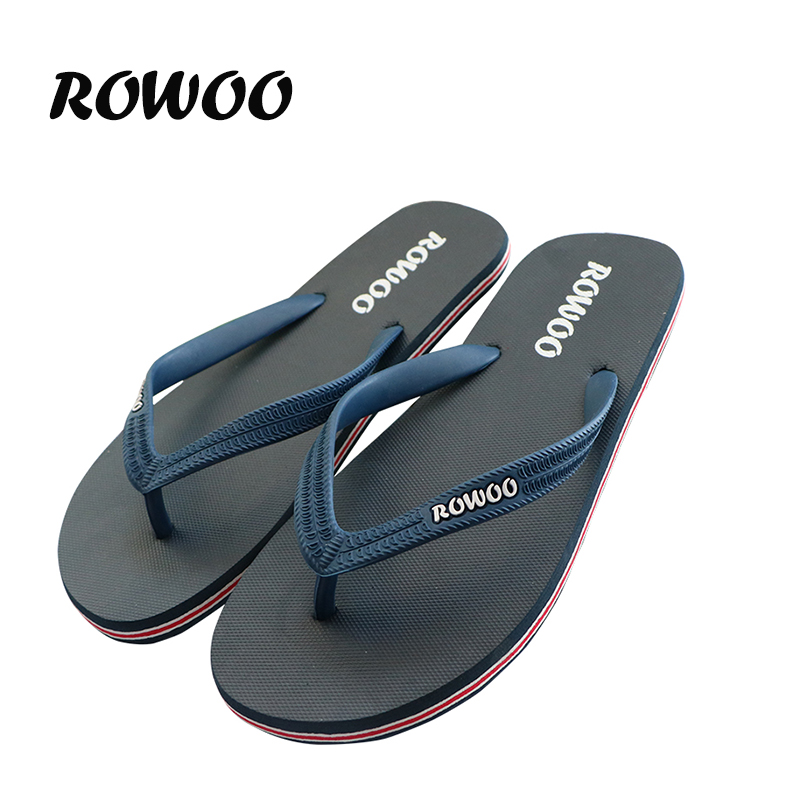 цены  Hot Sale New 2016 Summer Rubber Shoes Fashion Flip Flops Men Sandals Male Flat Beach Slippers Black Red Plus Size 39 - 46