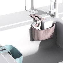 Kitchen Useful Suction Sponge Storage Rack Organizer Bathroom Wash Cloth Tools Wall Shelf Soap