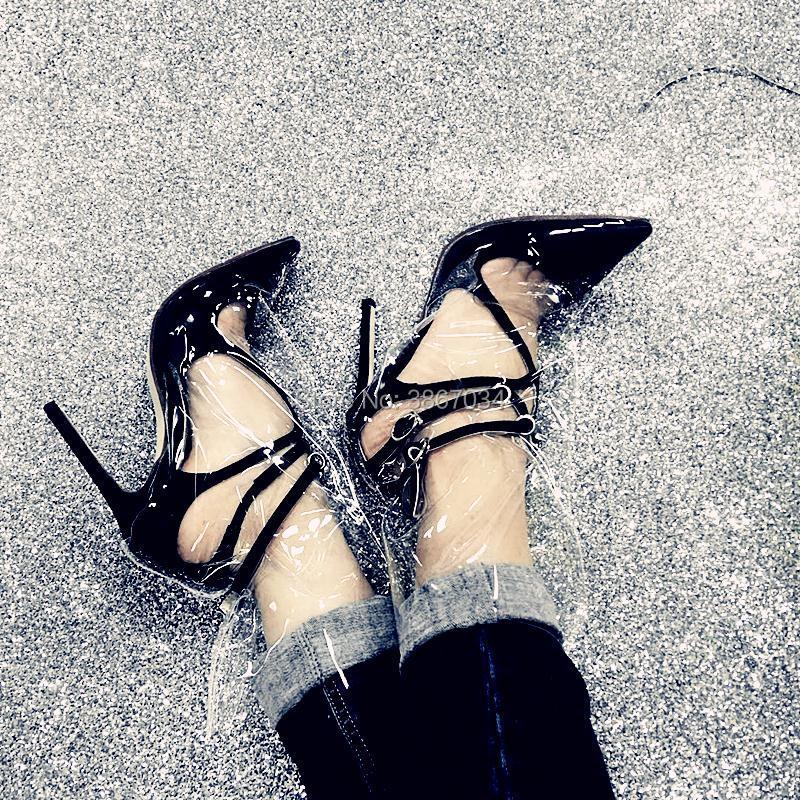 Marque stade floral Chaussures Pvc Femme Modèle pink black Design Stiletto Talon Bottes Shooegle Nouveau White Chaussons Court T blue champagne 2018 Transparent Partie Cheville 5qxwI10S