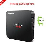V88 Plus TV Box Android 5 1 Rockchip 3229 Quad Core H 265 4K RAM 2GB
