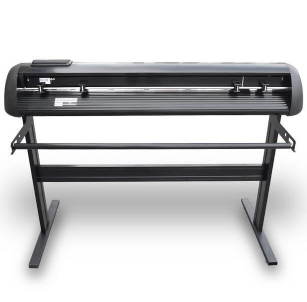 Black HL1200 Cheap vinyl cutter with stand2