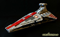 Lepin 05042 Star Wars Republic Attack Cruiser Building Bricks Blocks Toys For Children Game Weapon Compatible
