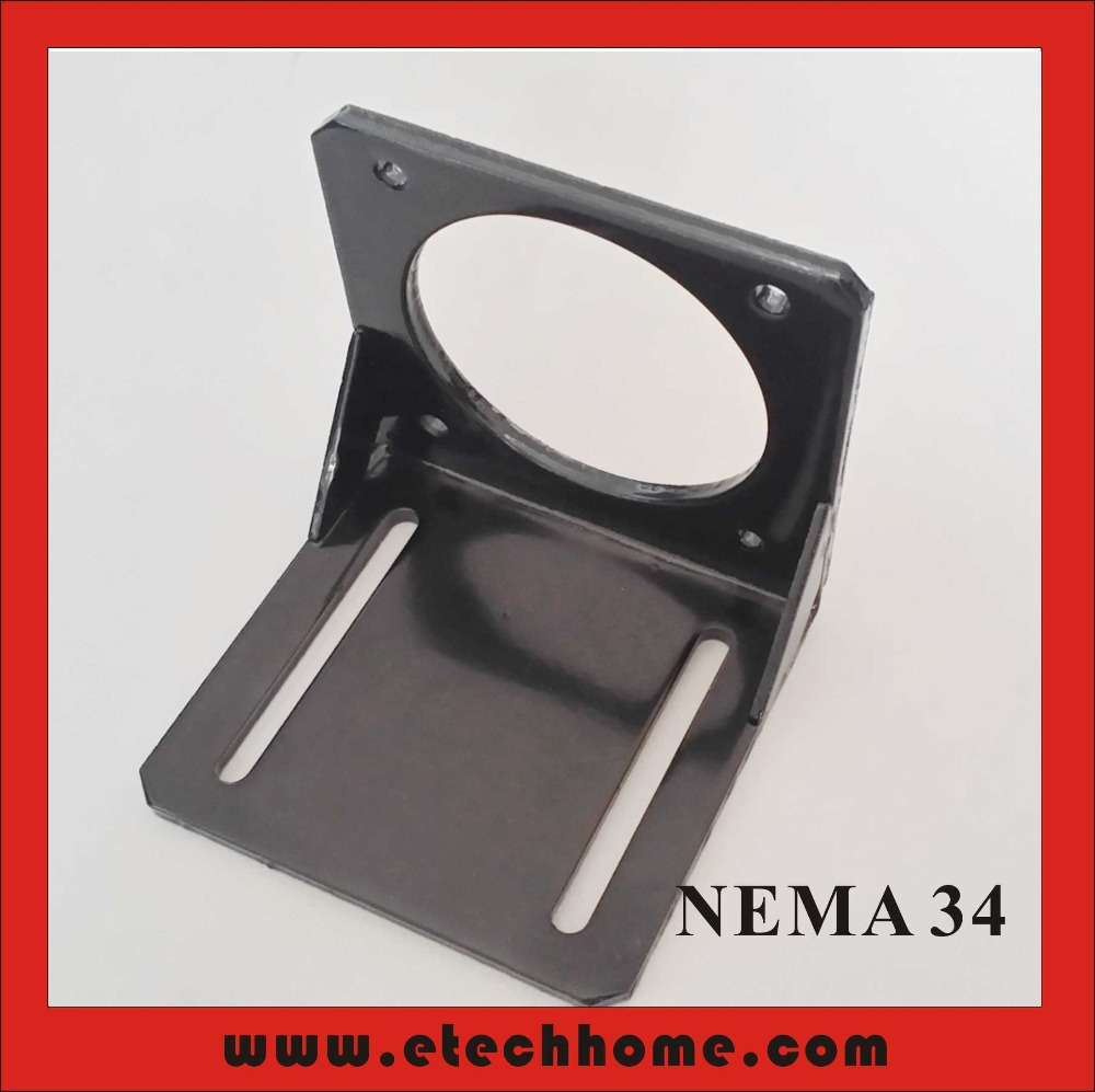 <font><b>Nema</b></font> <font><b>34</b></font> Bracket Stepper Servo Brushless <font><b>Motor</b></font> <font><b>Mounting</b></font> Seat International Standard Support Holder image