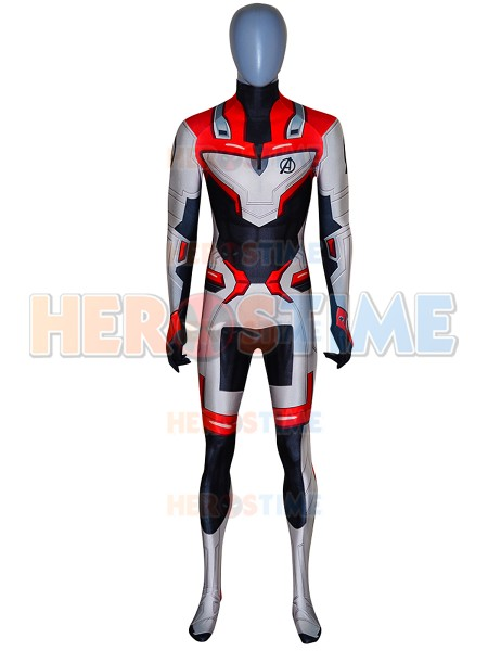 3D Printed Avengers 4 Cosplay Costume Spandex Muscle Avengers Bodysuit Halloween Party Zentai Suit Custom Made