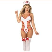Sexy Nurse Uniform Cosplay lingerie School uniform sexy Naughty Lingerie Maid Erotic Role Play Girl