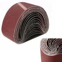 High Quality 15pcs Set Mix 40 80 120 Grits Sanding Belt Belt Sander Fittings Power Mayitr