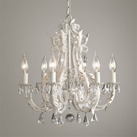 French Retro Nordic Simple Livingroom Chandelier Bedroom Restaurant Palace Princess Room Cafe Bar Crystal Lamp Free