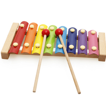 1 Set Baby Hand Knock Percussion Kids Early Education Wooden Musical Instrument Toys Children Creative Xylophone Serinette Gifts