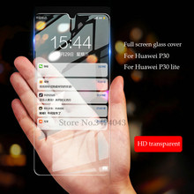 2Pcs/lot Tempered Glass For Huawei P30 lite Full Protective Film 9H Anti blue-ray Screen Protector