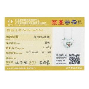 Image 5 - Wostu alta qualidade 925 prata esterlina bonito koala pingente colar para feminino menina linda jóias presente para namorada dxn256