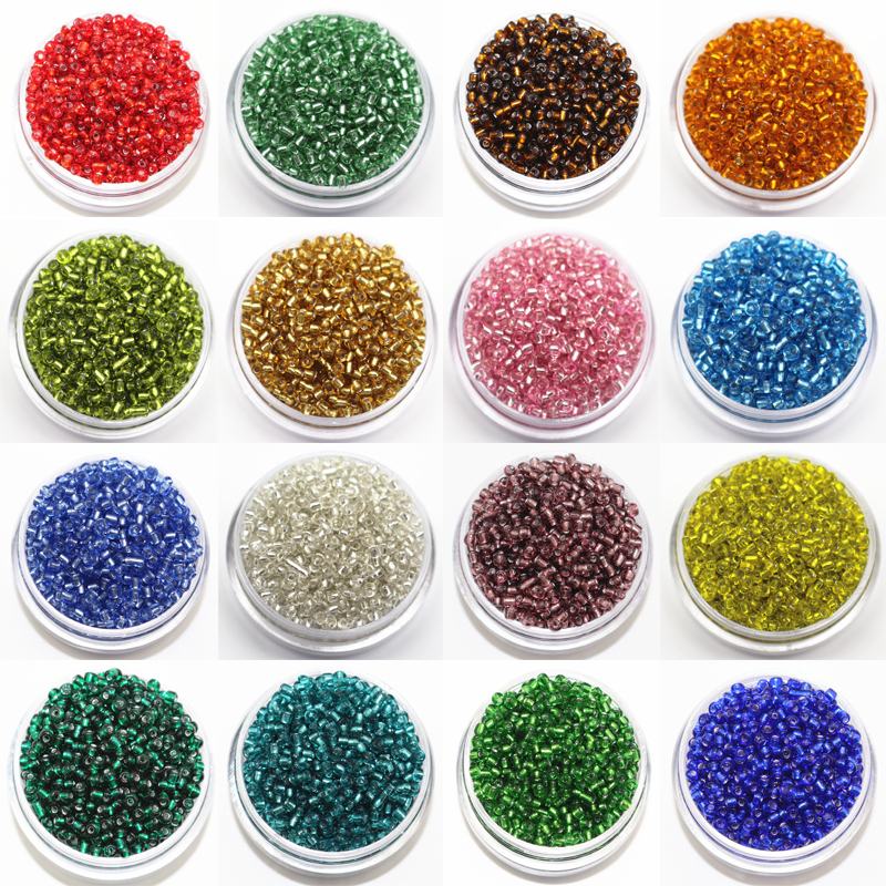2mm czech seed spacer beads 3000pcs lot mini glass seed for Natural seeds for jewelry making