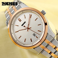 SKMEI Luxury Brand Full Steel Watch Men Fashion Military Watches 30M Waterproof Men's Quartz Watch Men Watches Relogio Masculino