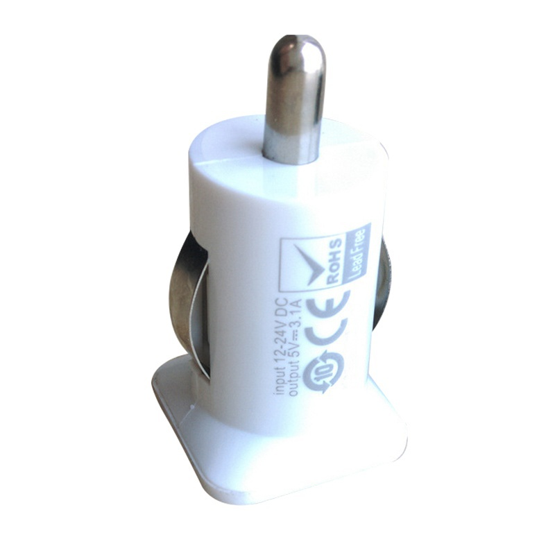 2 USB Port Mini Charger Universal Dual USB Car Charger Adapter for Tablets Smart Mobile Phones Charging On Vehicle