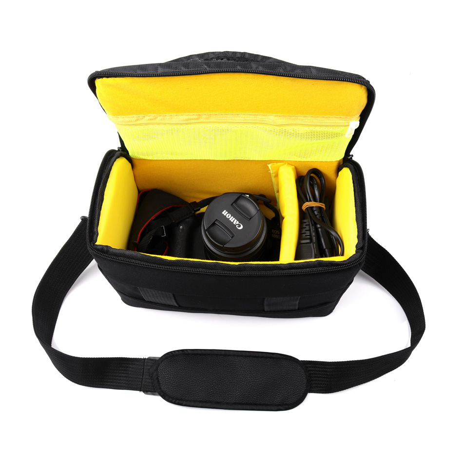 DSLR Camera Bag Case For Canon EOS 600D 700D 750D 1300D 1100D 1200D 60D 70D SX510 SX520 SX530 Nikon D7200 D7100 D7000 D810 D90