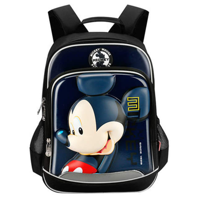 0306981206 Disney Backpack for School Boy and Girl Mickey School Bag for Children from  6-12
