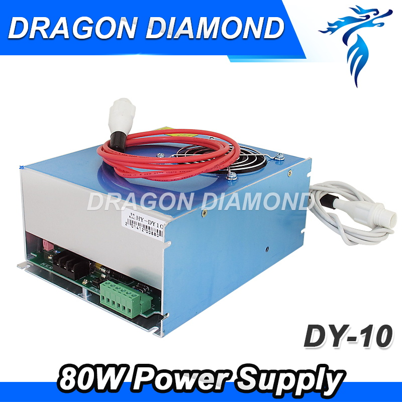 DY10 reci co2 power supply 80w for reci W2 co2 laser tube 80w co2 laser power dy10 for reci laser tube