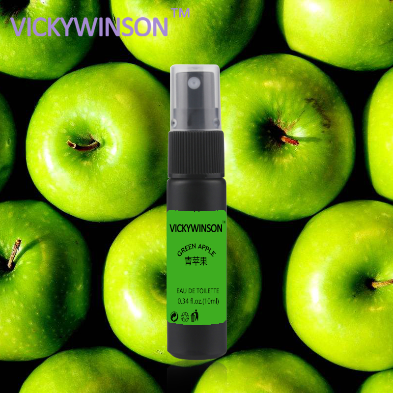 VICKYWINSON Green Apple Deodorization 10ml Body Deodorizer Remove Odor Essence Underarm Body Feet Odor Eliminate Antiperspirant