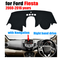 Car dashboard covers mat for Ford Fiesta ST with navigation 2008-2016 Right hand drive dashmat pad dash cover auto accessories  sc 1 st  AliExpress.com & Popular Ford Fiesta Dashboard Mat-Buy Cheap Ford Fiesta Dashboard ... markmcfarlin.com