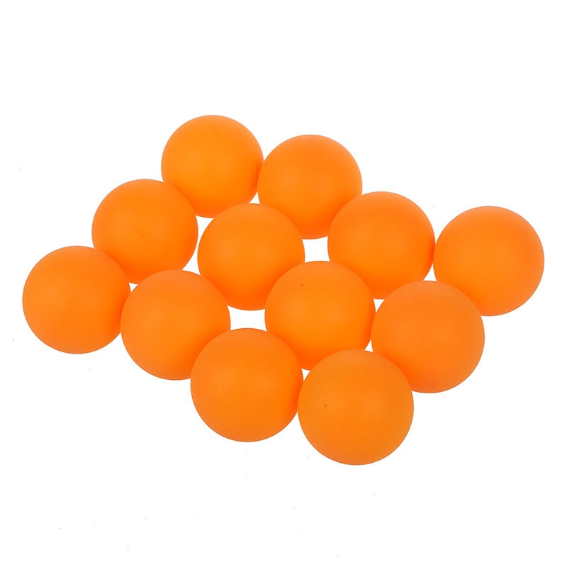 Sports Plastic Orange Table Tennis Table Tennis Ball 40 Mm Diameter 12 Pcs