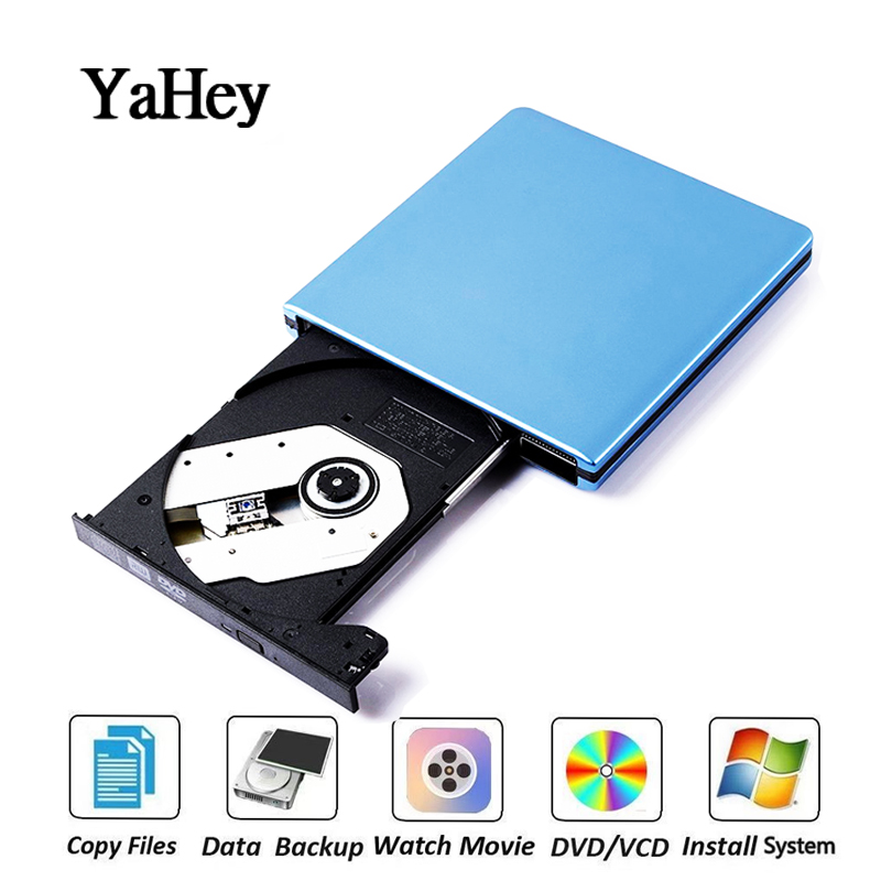 USB 3.0 DVD Burner DVD ROM Player External Optical Drive CD/DVD RW Writer Recorder Portatil Drives for Laptop Computer Mac pc Привод оптических дисков