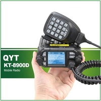 vhf uhf QYT KT-8900D VHF UHF Mobile Radio 2 דרך רדיו תצוגת Quad Dual הלהקה מין רכב רדיו (2)
