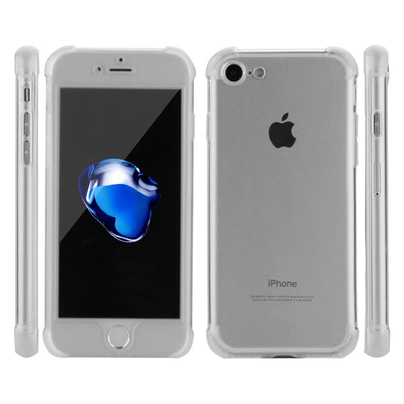 HD Clear TPU Funda para iPhone 7 8 Plus para iPhone 8 7 Fundas 360 - Accesorios y repuestos para celulares - foto 6