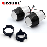 ROYALIN Fog Projector Lens For Infiniti 35 45 50 EX35 2 5 Full Metal Lenses Car