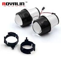 ROYALIN Fog Projector Lens For Infiniti 35 45 50 EX35 2 5 Full Metal Lenses Car