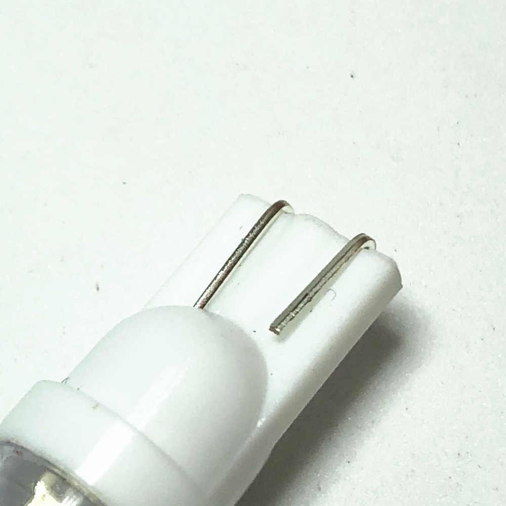 10 sztuk światła samochodowe T10 LED 194 168 SMD dla W5W Led biały LED Wedge Side żarówki lampa 12V żarówka do światła postojowego samochodów zewnętrzne światła obrysowe