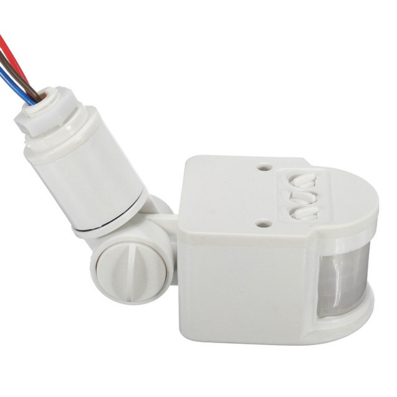 Outdoor Tool Professional Motion Sensor Light Switch Outdoor AC 220V Automatic Infrared PIR Motion Sensor Switch With LED Light