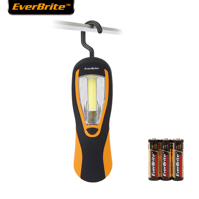 EverBrite 3W COB Light LED Flashlight Emergency Lights Work Lights