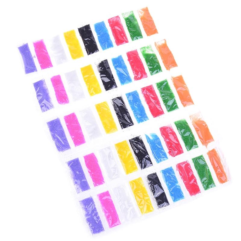 45pcs=5Packs Sand Sand Art Kit Sand Painting Drawing Toys Kids DIY Color Sand Painting Art Kindergarten Crafts DIY Toys 9 Colors