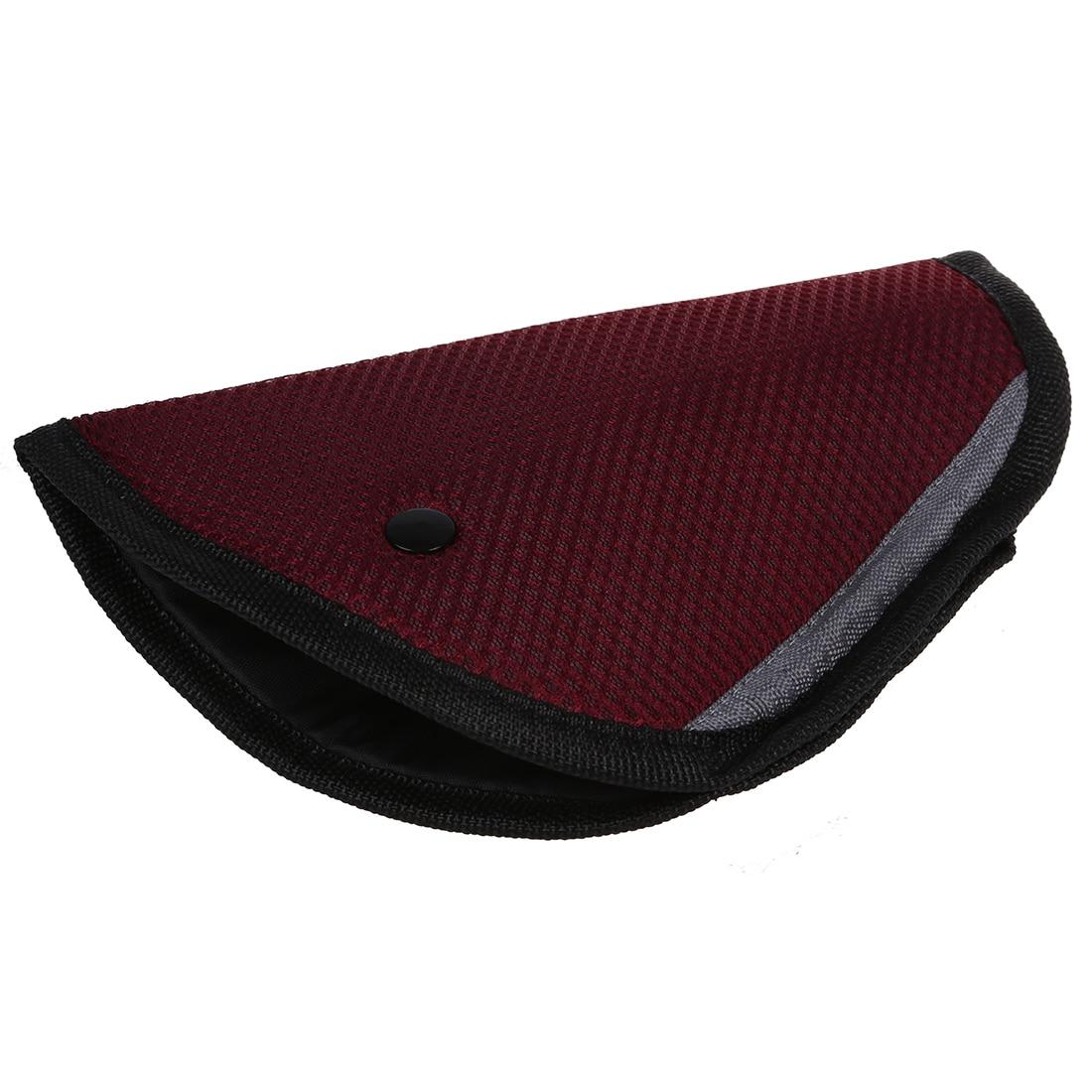 Car Accessories Comfortable Child Car Seat Belt Holder Claret